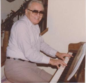 Dad at Piano
