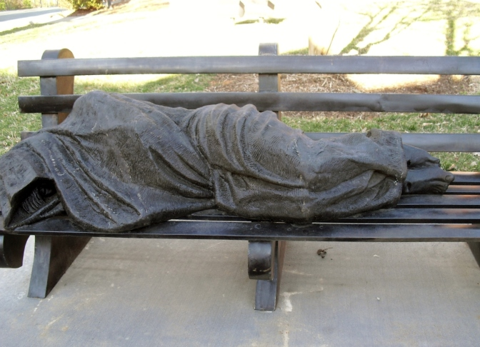 """Homeless Jesus"": Is it Art  and What does it Mean?"