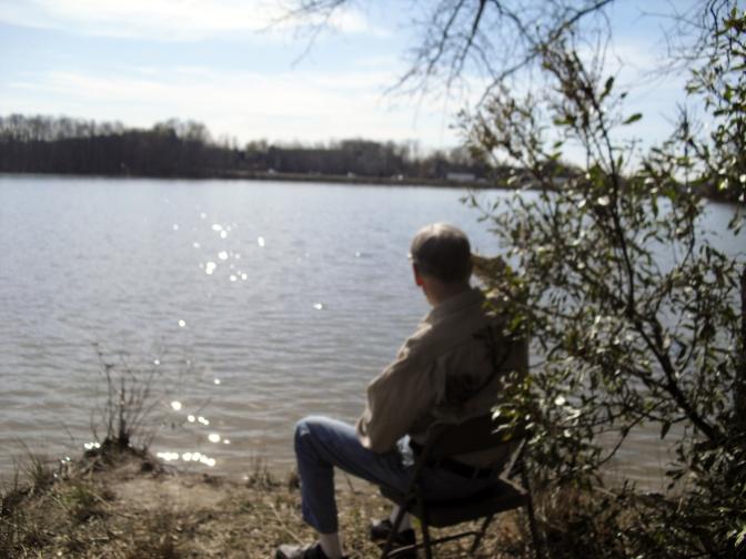 Spring at Davidson Lake!