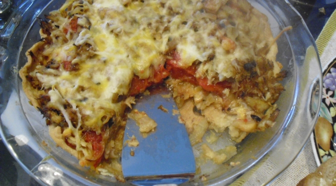Tomato Crab Pie:  One-dish Meal from a Charlotte Summer Garden