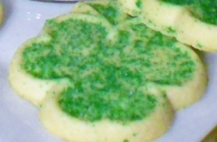 Sammy Squirrel, Shamrock Cookies and Brown Cows